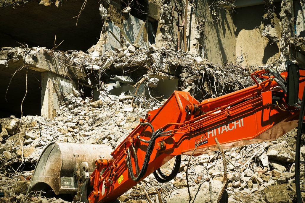 wyburzenia rozbiórki obiektów Zambrów Łomża