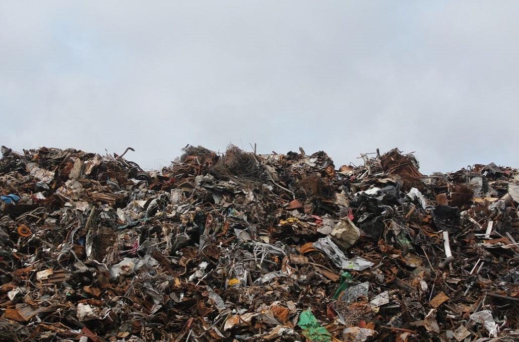 Składowanie odpadów w Zambrowie, gruz, odpady Zambrów